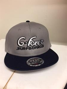 Cap Grey blue bill snap back